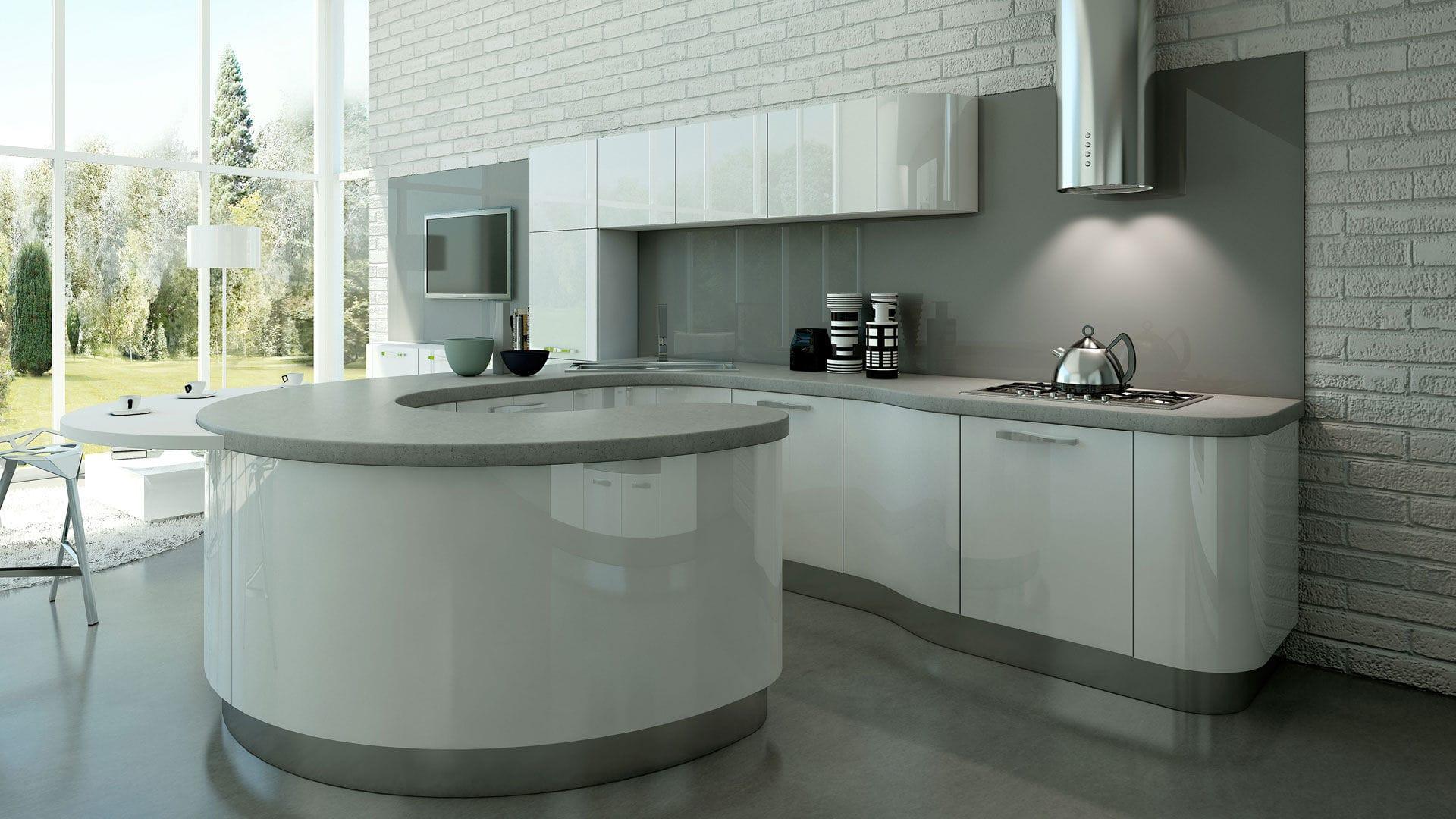 Cucina Moderna Con Isola Piccola : Cucina moderna con isola ...